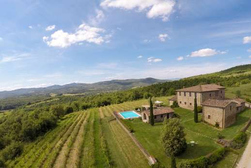 Borgo Gerlino - This is a very private property, with 20 acres of land with a gated drive