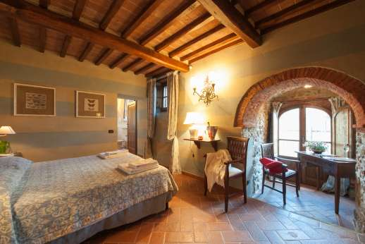 Borgo Gerlino - Another view of the room with underfloor cooling system