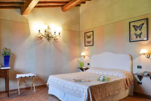 Borgo Gerlino - Another main house bedroom with underfloor cooling system