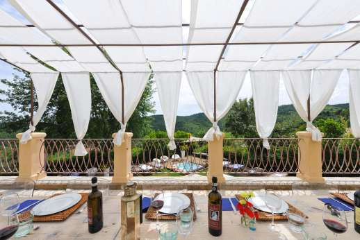 Villa Albizi - Dine with magnificent views