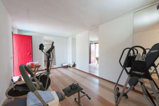Villa Albizi - The gym in the pool house