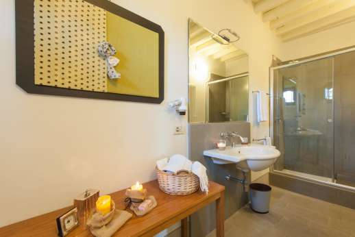 Villa Albizi - Ensuite bathroom with shower