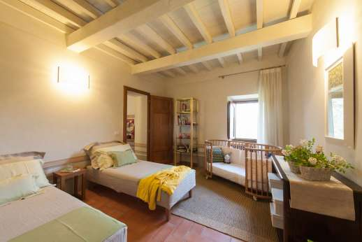 Villa Albizi - Air conditioned twin bedroom