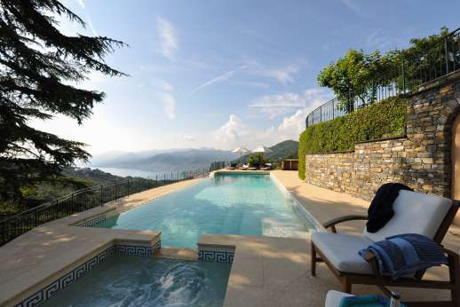 Bellaria - Swimming pool and hot tub can be heated.
