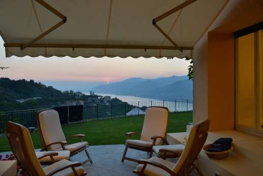 Bellaria - Shaded seating area enjoys wonderful views