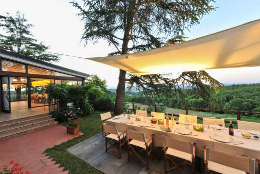 Villa Ostignano - Evening dining