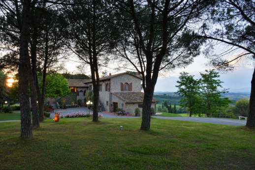 Villa Ostignano - The monastery has just been modernised and converted it into a very comfortable home
