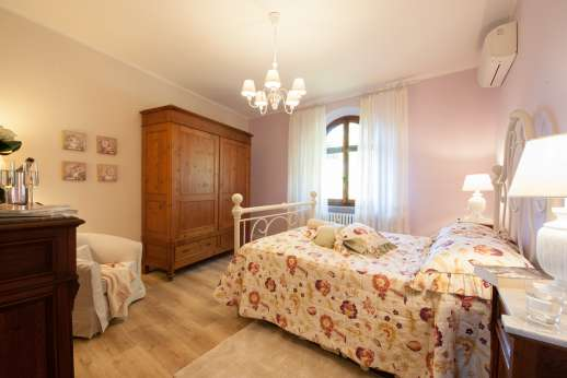 Weddings at Villa Ostignano - Another view of the bedroom
