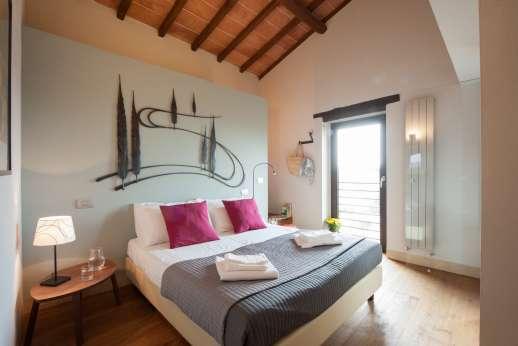 Poggiobuono - First floor air conditioned double bedrooms
