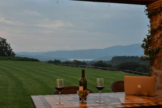Segreto Gelsomino - Enjoy your evening in the loggia