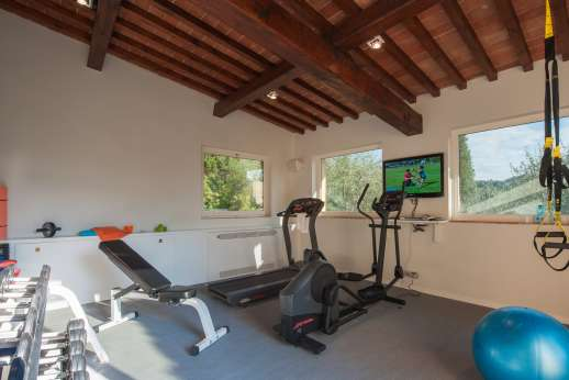 Podere Nuccioli - Lower ground floor gym