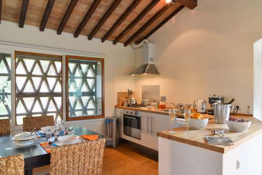 Podere Nuccioli - Guest house openplay kitchen