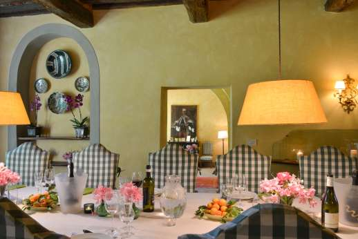 Poggio Ai Grilli - Have all your meals cooked at the villa.