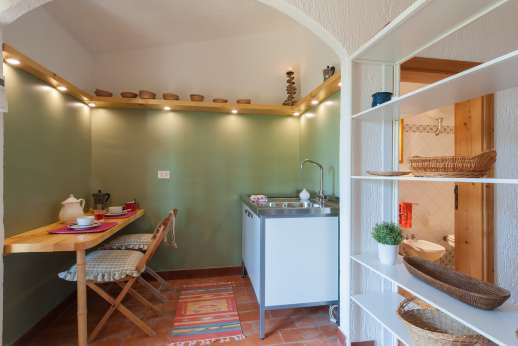 Passo Reo - Guesthouse by the pool kitchenette