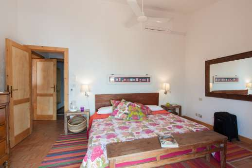 Passo Reo - Second guesthouse air conditioned double bedroom