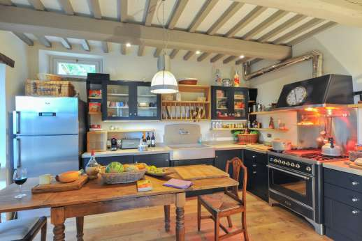 La Palazza Nel Cielo - Modern and well equipped kitchen