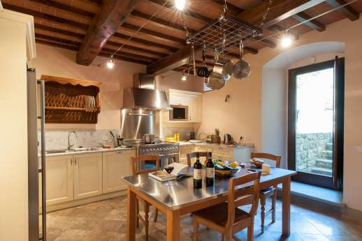 Argenta Celeste - Well-equipped kitchen of the guest house