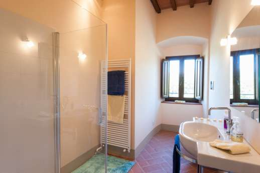 Argenta Celeste - Private bathroom with shower in the guesthouse