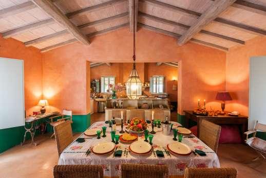 Samarkanda Rosso - Dining room