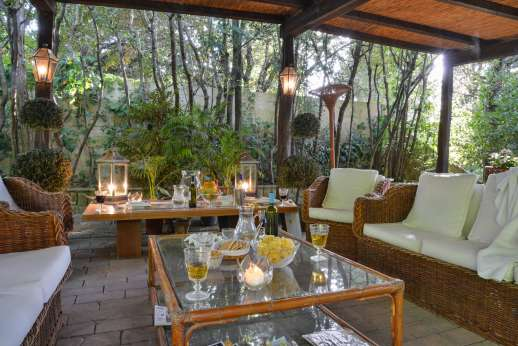 Montesassi - This is the loggia, with an outside living room.