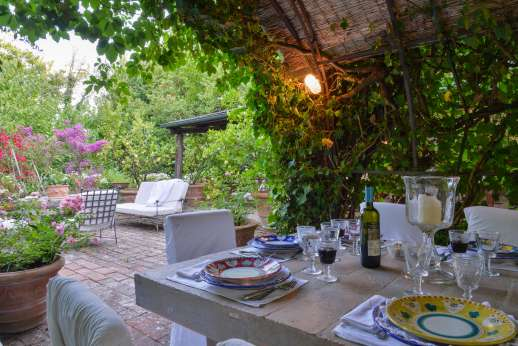 Montesassi - A wonderful garden, offering so many peaceful seating area.