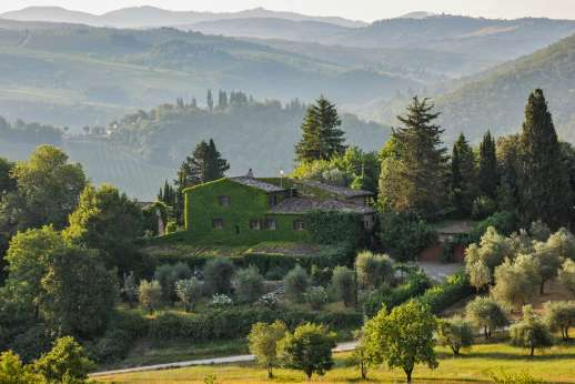 Montesassi - Stunning views of the Chianti.