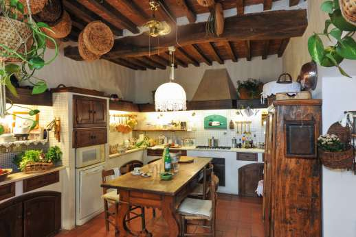 Montesassi - Another of the comfortable sitting rooms on the first floor.
