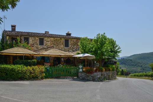 Montesassi - Osteria La Piazza within walking distance, about 400 meters away.