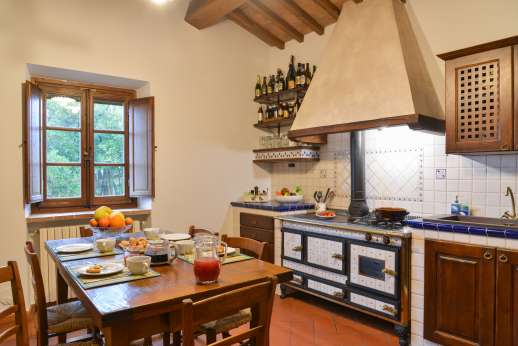 San Leolino (x 10 people) with Staff and Cook - First floor breakfast kitchen