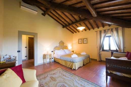 Villa Le Botti - All the bedrooms have en suite bathrooms.