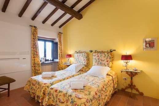 La Tegolaia - The third twin bedroom.