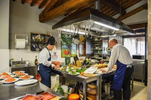 The Estate Of Petroio - Kitchen staff at the villa