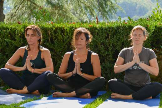 The Estate Of Petroio - Yoga at the villa