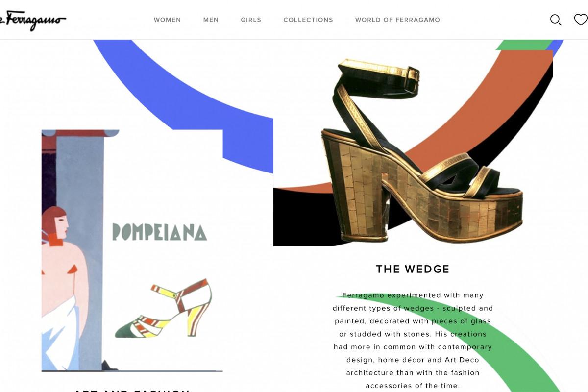 Ferragamo website