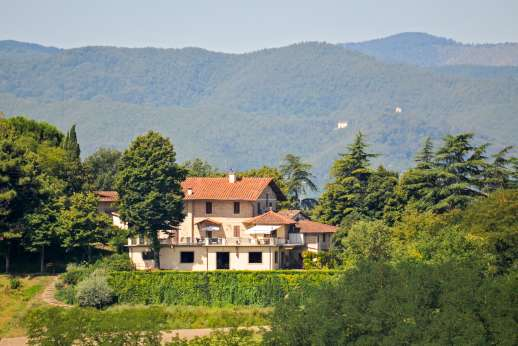 Villa Atena - View of Villa Atena.