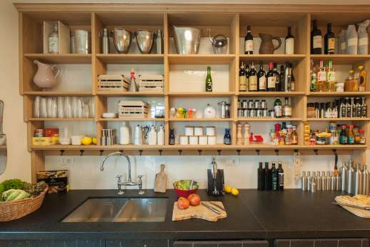 La Gemma Dorata - Well organised kitchen with all a budding chefs wants