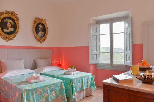 Villa Caprolo - Ground floor twin bedroom