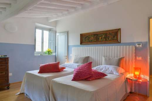 Villa Caprolo - Main house first floor twin bedroom (convertible to double)