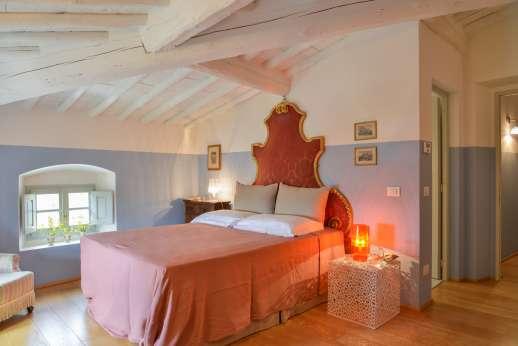 Villa Caprolo - Second floor double bedroom, with geo thermal air conditioning.