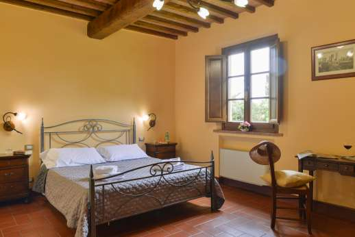 Il Renaccio - Air conditioned double bedroom,