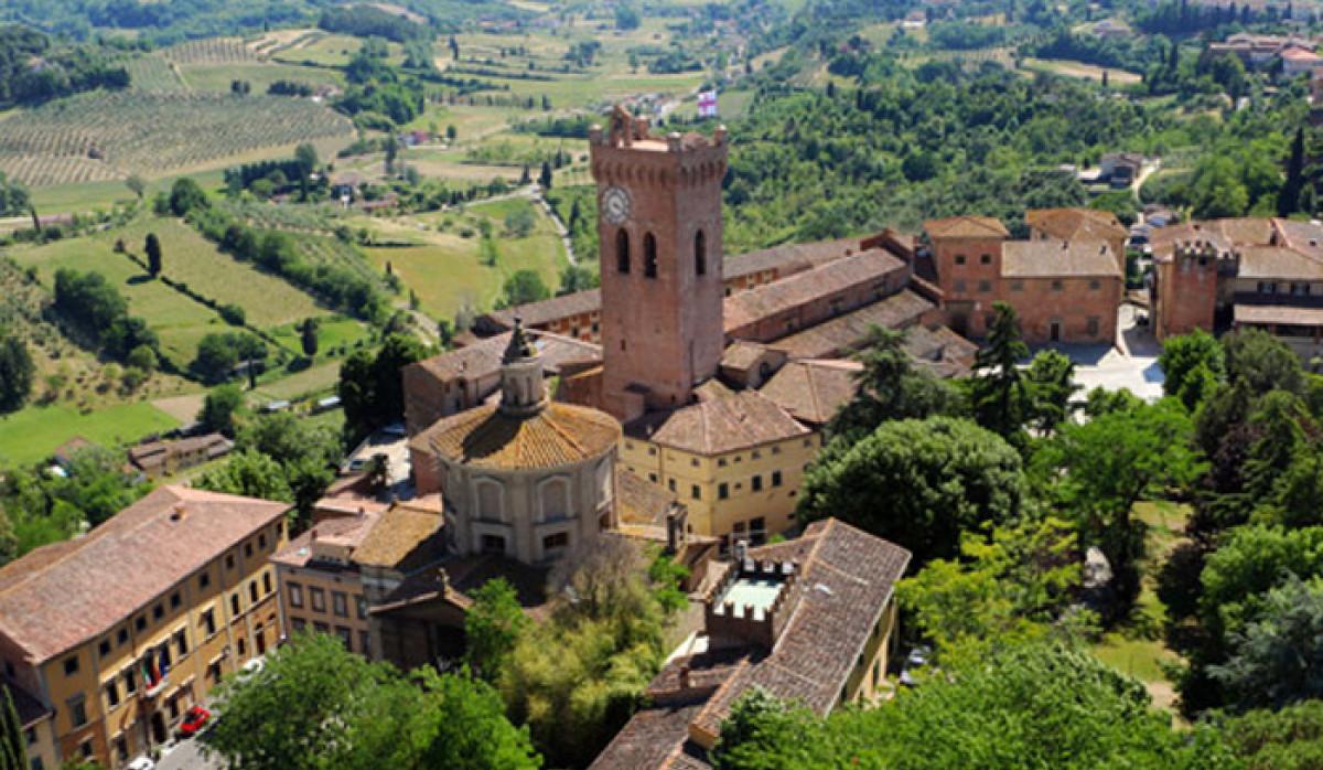 San Miniato town view, Italy
