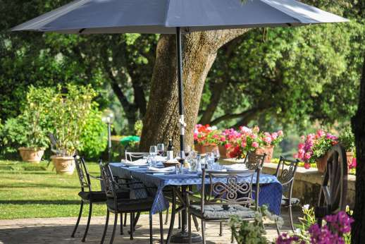 Villa di Pile - Enjoy your meals outdoors