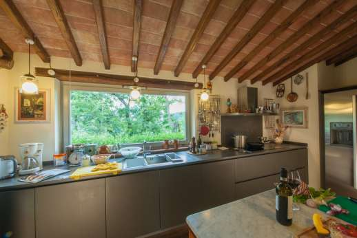 Podere Brogi - A very well equipped kitchen.