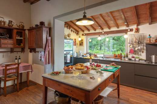 Podere Brogi -The large kitchen