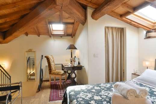 Podere Brogi - Mezzanine bedroom