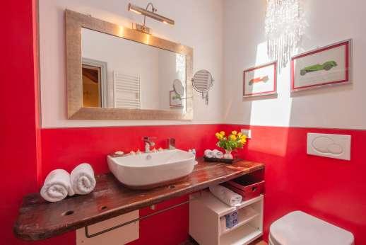 Podere Brogi - Ensuite bathroom