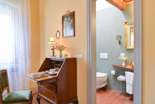 Podere Brogi - Another of the bedrooms.