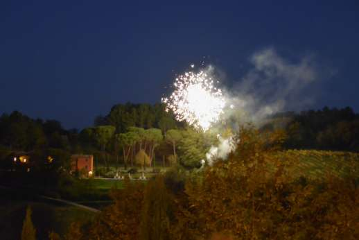 Podere Brogi - Fireworks at the villa