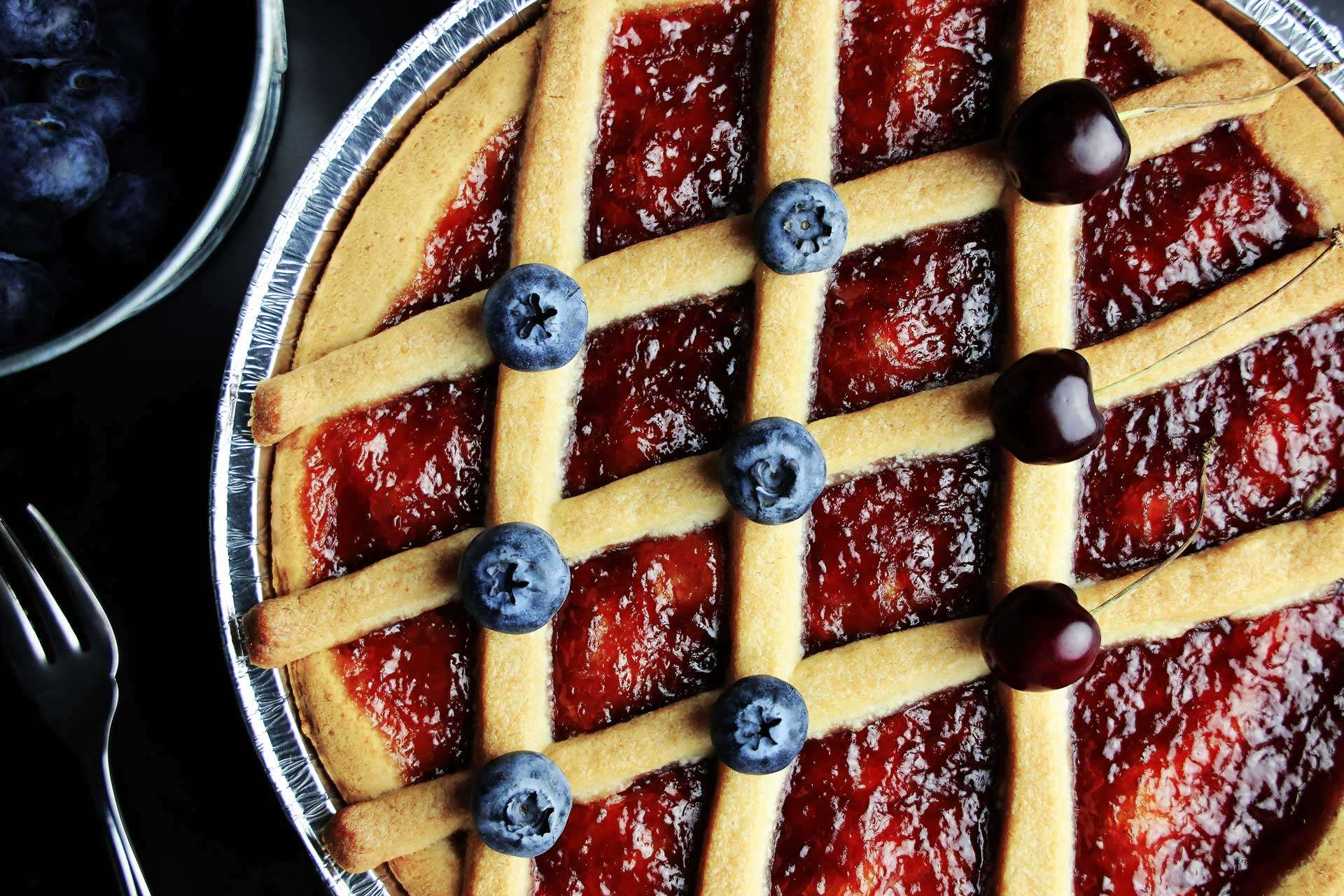 Raspberry Crostata