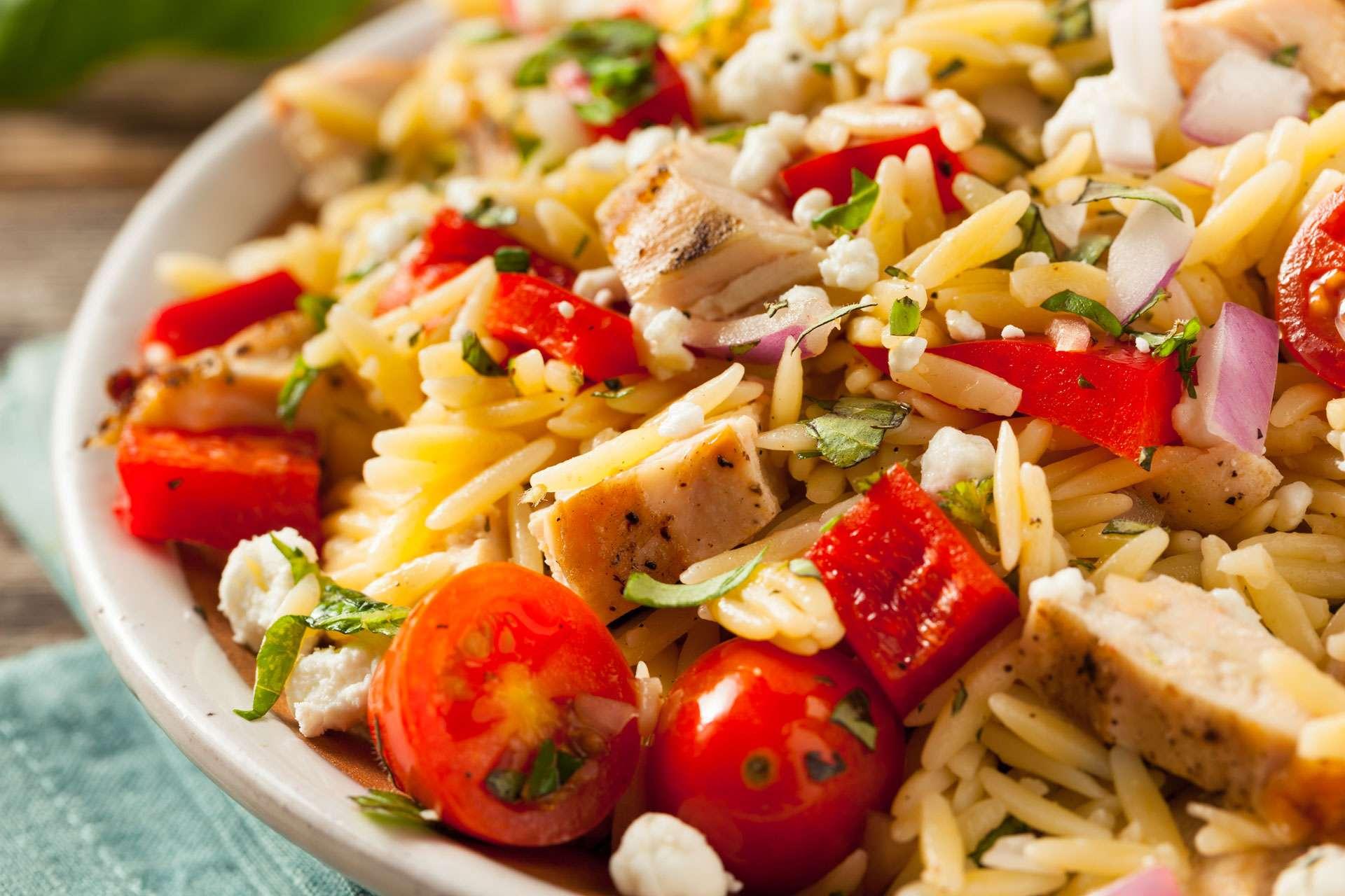 TN&M in the Kitchen: Saffron Orzo Pasta Salad